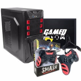 Cpu Gamer Amd Sempron, Gt 610, 4gb Ddr3, Joystick Com Jogos