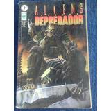 Comic Aliens Versus Depredador