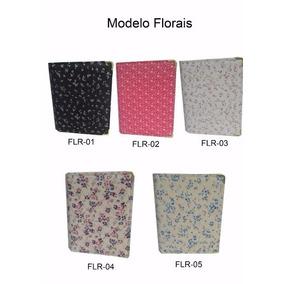 Pasta Coral Modelo Florais N° 5 Tamanho 49x33 Folha A 4