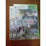 Video Juego Xbox 360 Pes 2013
