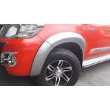 Extenciones De Tapabarros Toyota Hilux 2012-2015 Plasticas