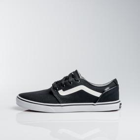 zapatillas vans negras de lona