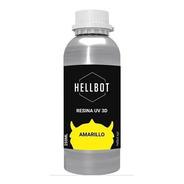 Resina Dura Hellbot 250ml Impresora 3d Gris 405nm Lcd Sla