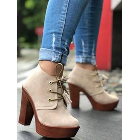 Botines Bajitos Dama Tacon Perla - Zapatos Piel en Mercado Libre ... 73fa6a5a8253