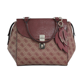 Bolsa Guess Nissana Sp678606-bor Bordeaux Dama Original
