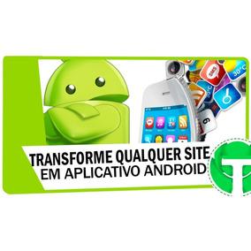 Aplicativo Para Android (transforme Seu Site )