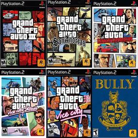 Patche Gta Coletanea E Bully 6 Jogos, Para Ps2 Patche