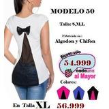Maxxi Ofertas!!..espectaculares Blusas Al Mayor Y Detal