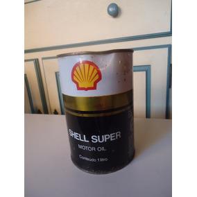 Lata Antiga Óleo Shell Super - Anos 70