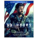 Blu-ray + Dvd 13 Hours Secret Soldiers Of Benghazi 13 Horas