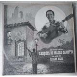 Lp Canções De Mauro Damotta - Na Voz De Carlos Silva