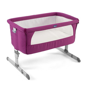 Chicco Cuna Colecho Next2me Fuchsia, Color Rosa