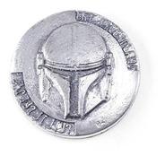Moeda The Mandalorian Bounty Hunter Réplica 3d Beskar Coin