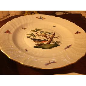 Platos De Porcelana Herend Muy Antiguos