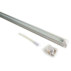 Lamparas Doble Led Techo Tubo 24w T8 Aluminio Accesorios /e