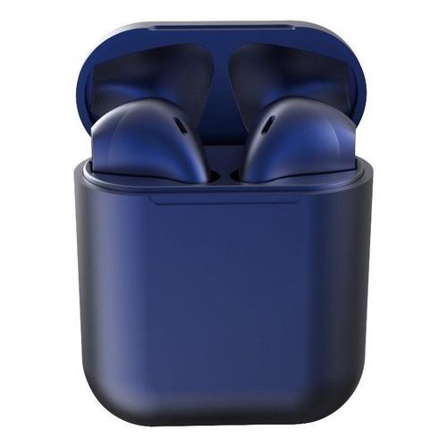 Audífonos In-ear inalámbricos i12 TWS azul oscuro
