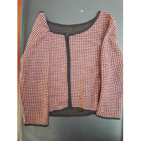 Sweter Tipo Saquito Con Cierre