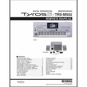 Manual De Serviço Do Teclado Yamaha Tyros 3