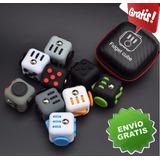 Fidget Cube Original Colores Estuche Y Envío Gratis