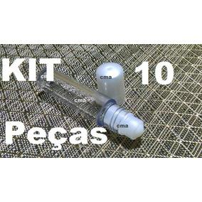 Kit 10 Frasco Labial ,flaconete 10ml Roll On De Plastico
