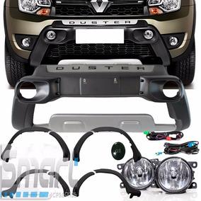 Kit Duster 2016 Bumper Alargador Kit Milha Frisos Tg Poli