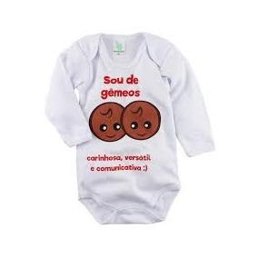 Body Bebê Divertidos Personalizados Zodiaco Marca Lovatinho