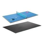 Tapa Comedor Y Ping Pong + Set 2 Paletas 3 Pelotitas Red