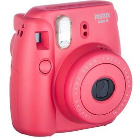 Câmera Instantânea Fujifilm Instax Mini 8 Framboesa