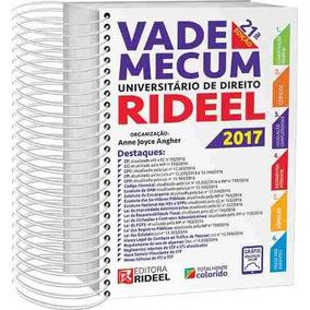 Vade Mecum Universitário Direito Rideel 1º Sem 2017