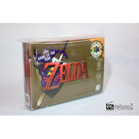 Caja Custom Zelda Ocarina Of Time N64 Nintendo