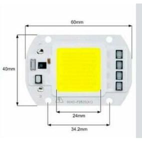 Led Chip Blanco 50w Smart Ic 110v 6000 - 6500k + Pasta Termi