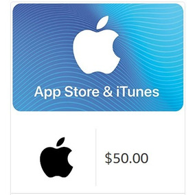 Itunes Gift Card Eua 50 Dolares Apple Store, Ipod, Iphone