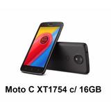 Celular Motorola Moto C   16gb   4g   Dual Chip   Xt-1754