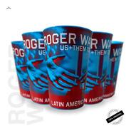 Kit Com 5 Copos Oficiais Roger Waters Us+them 2018