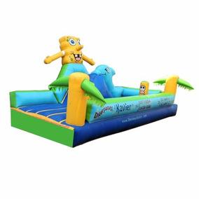 Brincolin Inflable Escaladora Bob Esponja