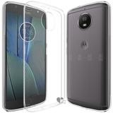 Kit Capa + Película De Vidro Para Motorola Moto G5s Plus