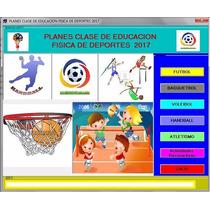 Planes Clase Educacion Fisica De Deportes 2017 Envio Gratis