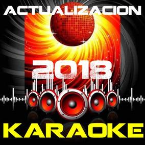 Karaoke Actualizacion 2018 Mp3 + Cdg Envio Por Descarga