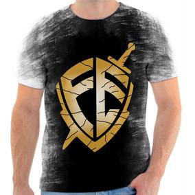 Camiseta Camisa Personalizada Escudo Da Fé André Valadão 2