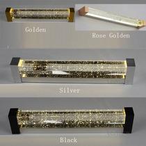 Lampara Led De Cristal Y Alto Cromo Moderna Lujo Para Baño