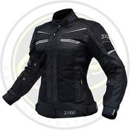 Jaqueta Motociclista Proteção X-11 Breeze Verão Feminina
