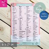 Lista Supermercado Con Imán Souvenir Madre Deco Hogar 311