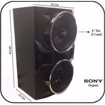 Caixa De Som Sony Ss-gpx88 Para Mhc-gpx88 O Par Original.