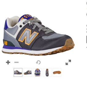 new balance marron niño