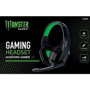 Audifono Gamer Monster 655gr 1 Plug Stereo - Revogames