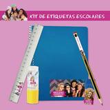 Kit Escolar Etiquetas Sticker Colegio Proyecto Mc2 Serie