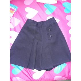 Falda Short Escolar Preescolar Usada