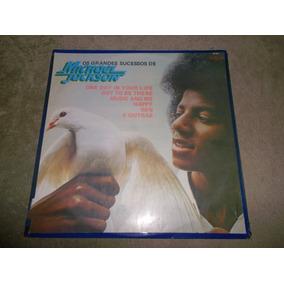Michael Jackson, Os Grandes Sucessos - Top Tape 1975 - Lp Vg