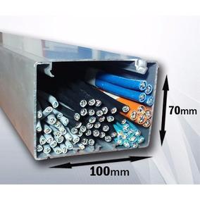 Canaleta Aluminio A101 100x70mm Cable Envío Gratis 2.5m