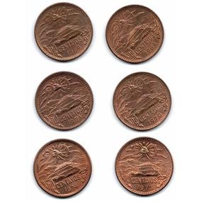 Coleccion Moneda Antigua Veinte Centavos Pirámide 70-4 A1